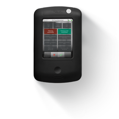 C6 Key Cabinet Touchscreen Terminal - Biometric, Fob, Card or Pin Access.