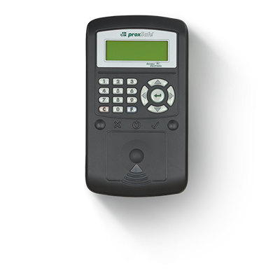 C4 Key Cabinet Terminal - LCD Screen with Fob, Card or Pin Access.